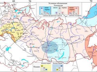 Вероятностный прогноз температуры и осадков на 2016 год от Росгидромета сулит очень тяжелый пожарооп