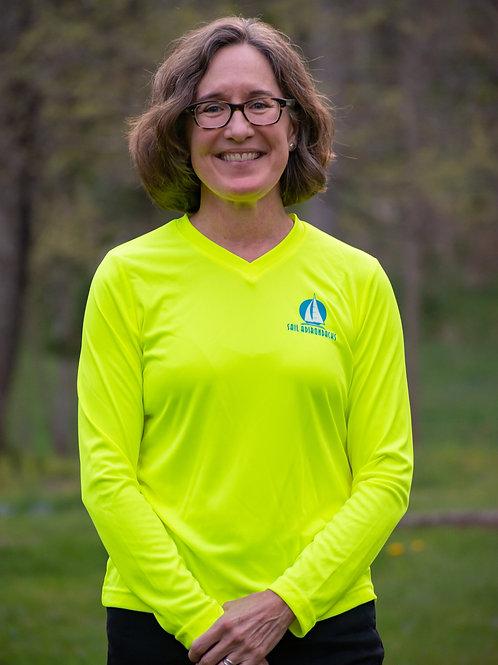 Women's Ragatta Green Long Sleeve T