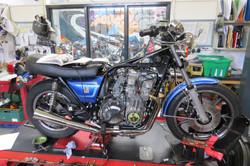 Charles' Kawasaki sr650 restoration