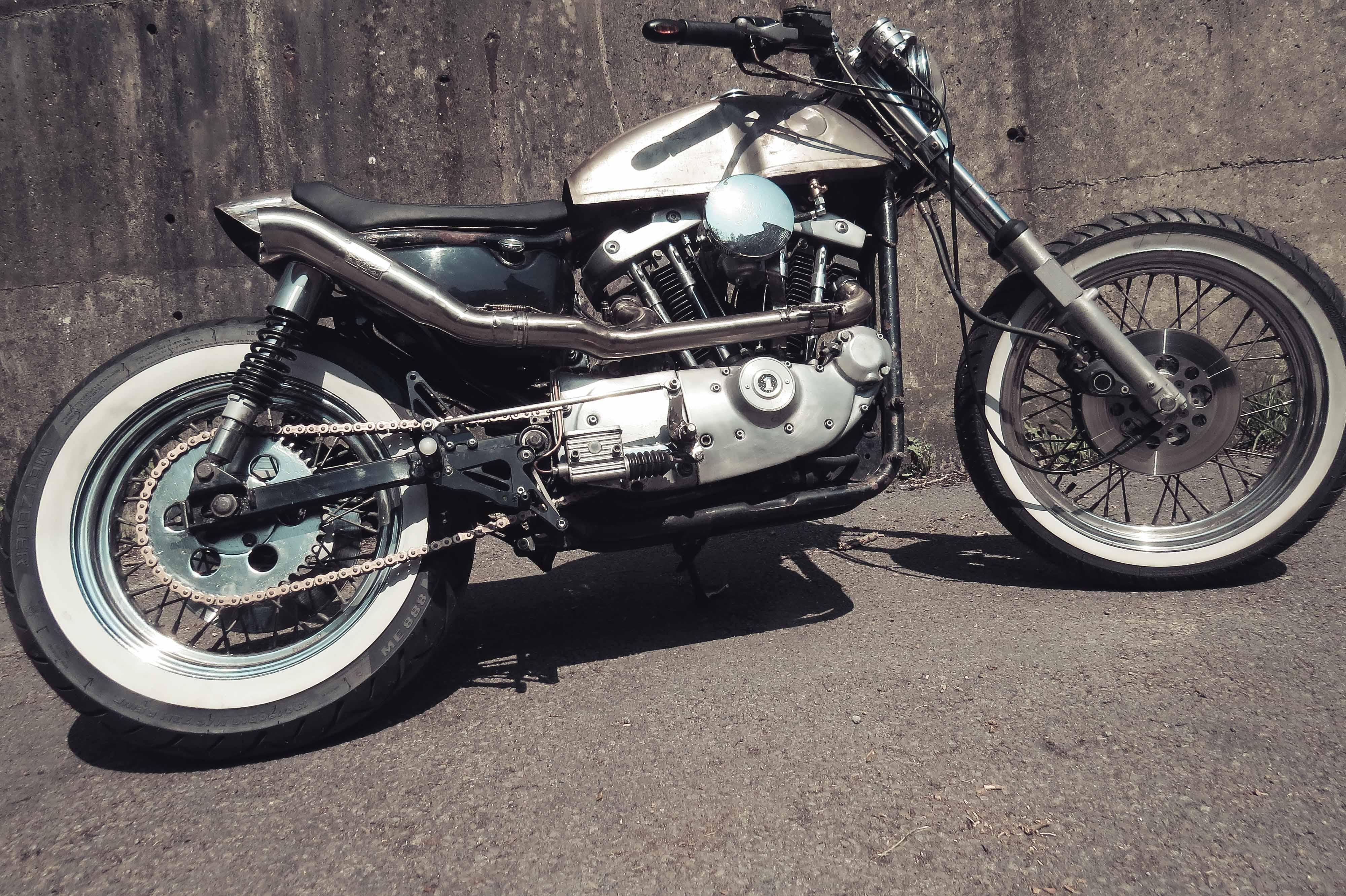 Custom Ironhead Sportster