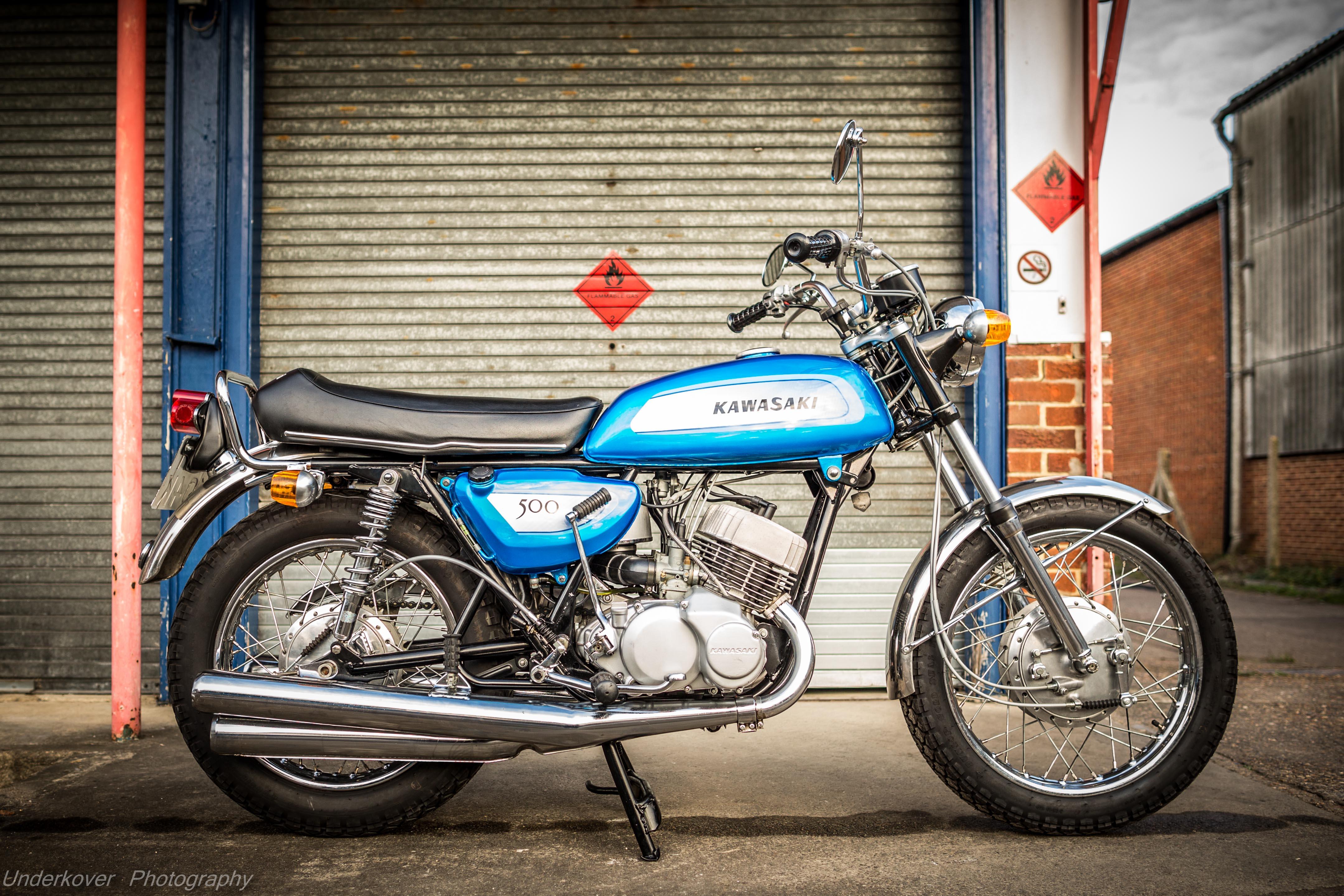 1971 Kawasaki Mach III H1A