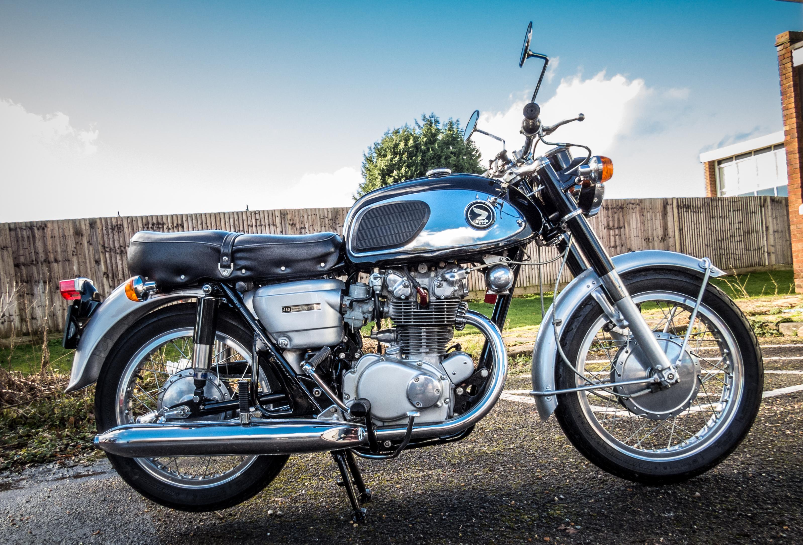 1968 Honda CB450