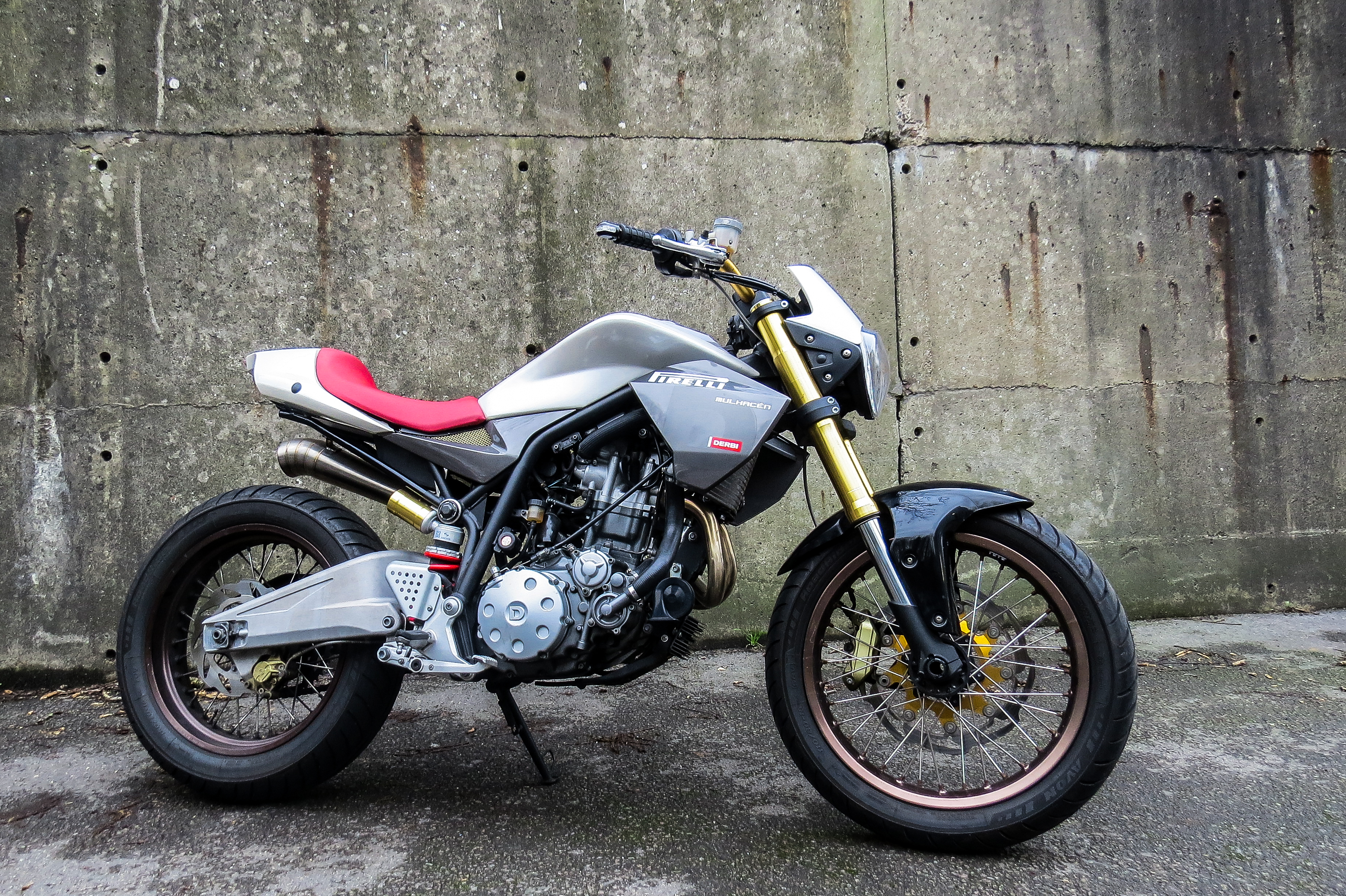 Derbi Mulhacen 659 project
