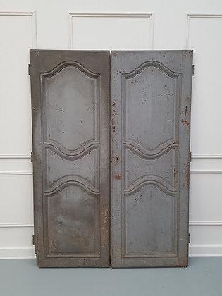 Antique Original Painted French Doors C1790