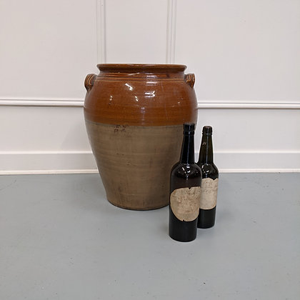 Antique Confit Pot C1900