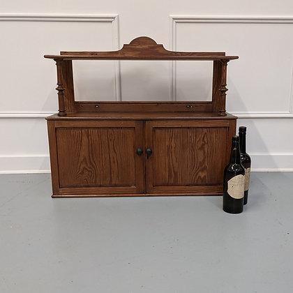 Antique Hanging Pine Cabinet C1870