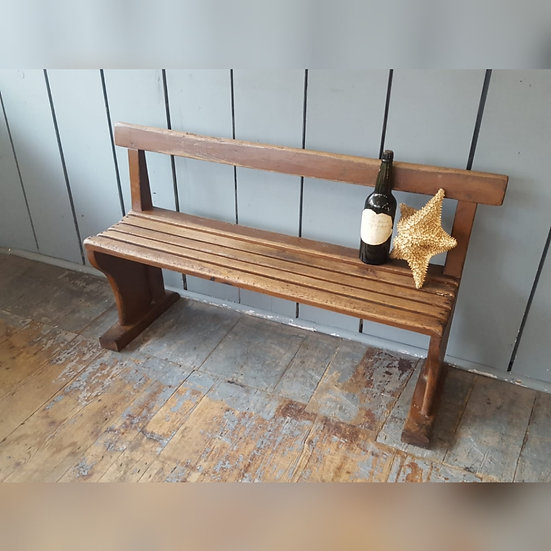 Antique French Childs Bench C1900