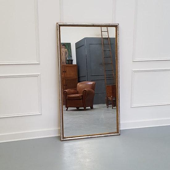 Antique French Bistro Mirror C1880