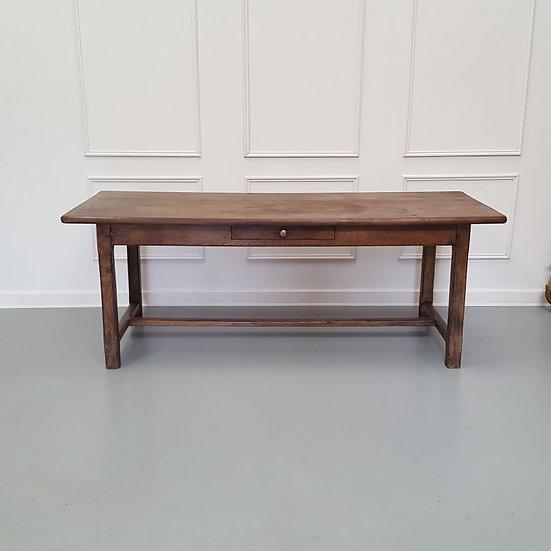 Antique Elm French Farmhouse Table c1800