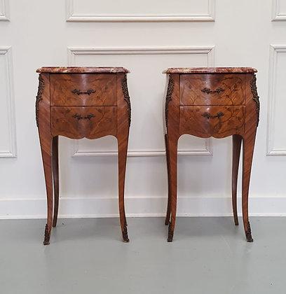 Kingwood Bedside Cabinets c1930