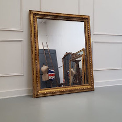 Antique Landscape/Portrait French Mirror C1840