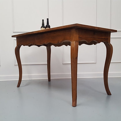 Pretty French Cherry Table  C1840