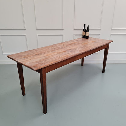 Antique French Farmhouse Table c1840