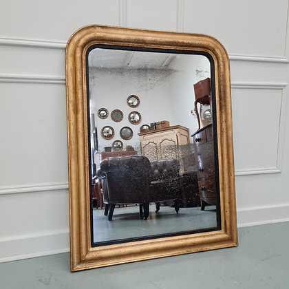 Beautiful French Gilded Mirror