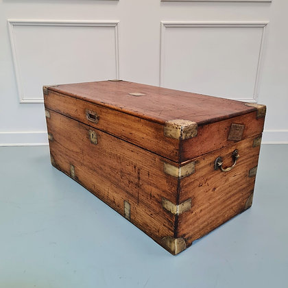 Camphorwood Military Trunk owned by First World War Veteran