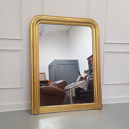 Beautiful Gilded French Mirror C1850