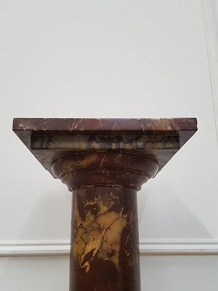 Antique Italian Marble Pedestal C1870