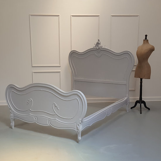 Antique Rococo French Bed C1870