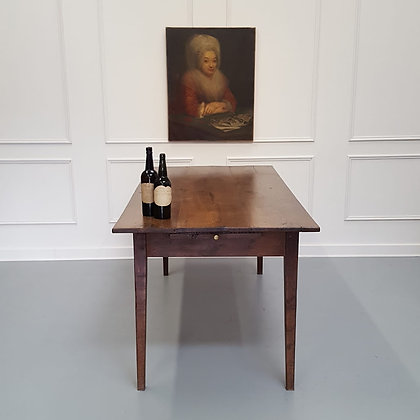 Beautiful Early French Oak Farmhouse Table C1830