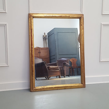 Landscape Antique French Mirror C1900