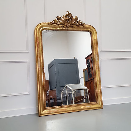 Antique French Gilded Mirror C1860