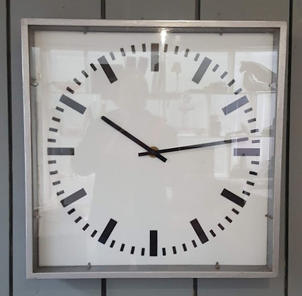 Large Czech Station Clock C1960