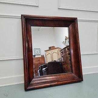 Beautiful Deep Frame Mahogany Mirror