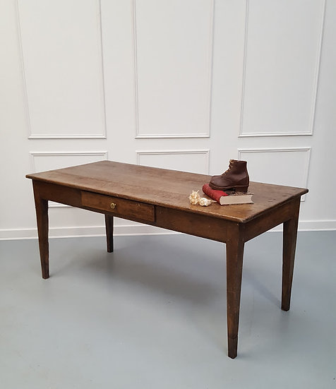 Beautiful Early French Farmhouse Table C1840