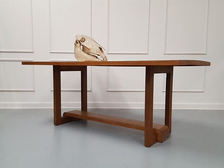 Iconic Design Oak Dining Table c1950