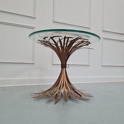 French Vintage Wheatsheaf Coffee Table