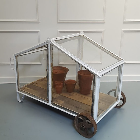 Small Greenhouse with Wheels