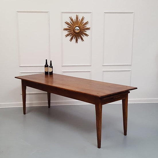 Beautiful Huge French Farmhouse Table C1840