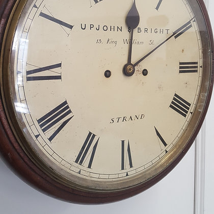 Double Fusee Wall Clock C1860