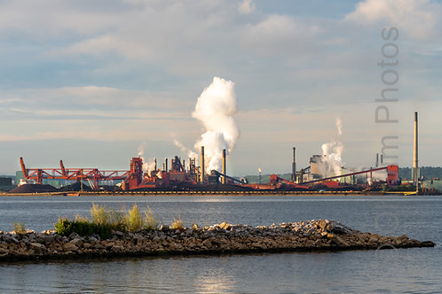 Steel Plant in the Morning