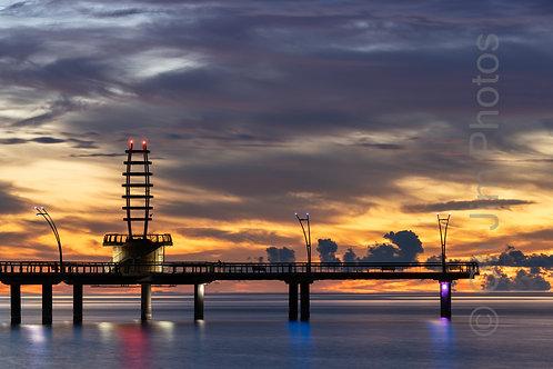 Colourful Pier
