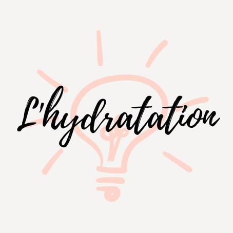 Info nutrition - l'hydratation
