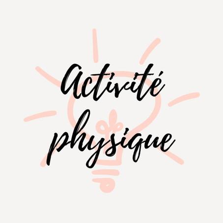 Info nutrition - l'activité physique