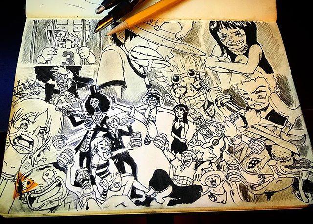 Inktober Drawing by Stephan Valeros