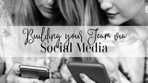 Building your Team Via Social Media