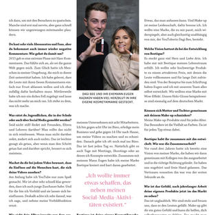 Interview Alverde Magazin