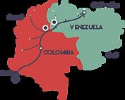 fluxes between colombia and venezuela