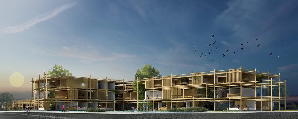 super block flexible architecture bamboo social