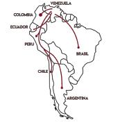south america venezuelan refugees