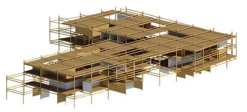 Flexible sustainable architecture