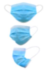 Medical mask isolated on white backgroun