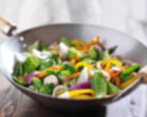 wok,goodfood,légumes,viande,sain,équilibré,vert