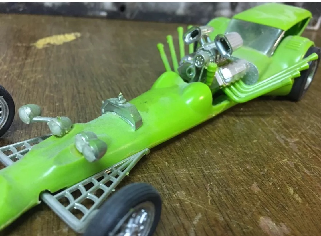 60's Rat Rod Model