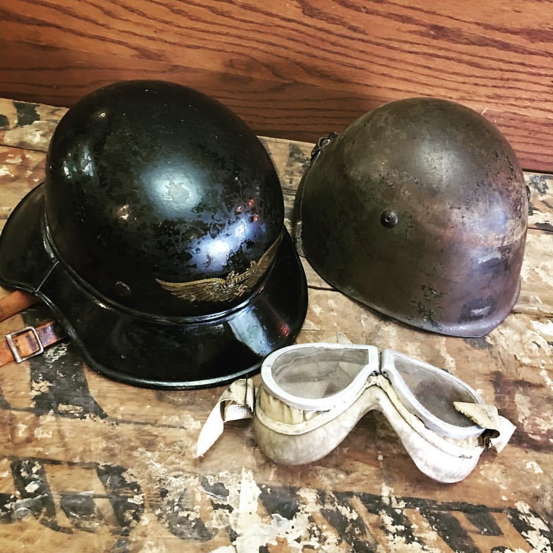 Misc. Helmets WW2
