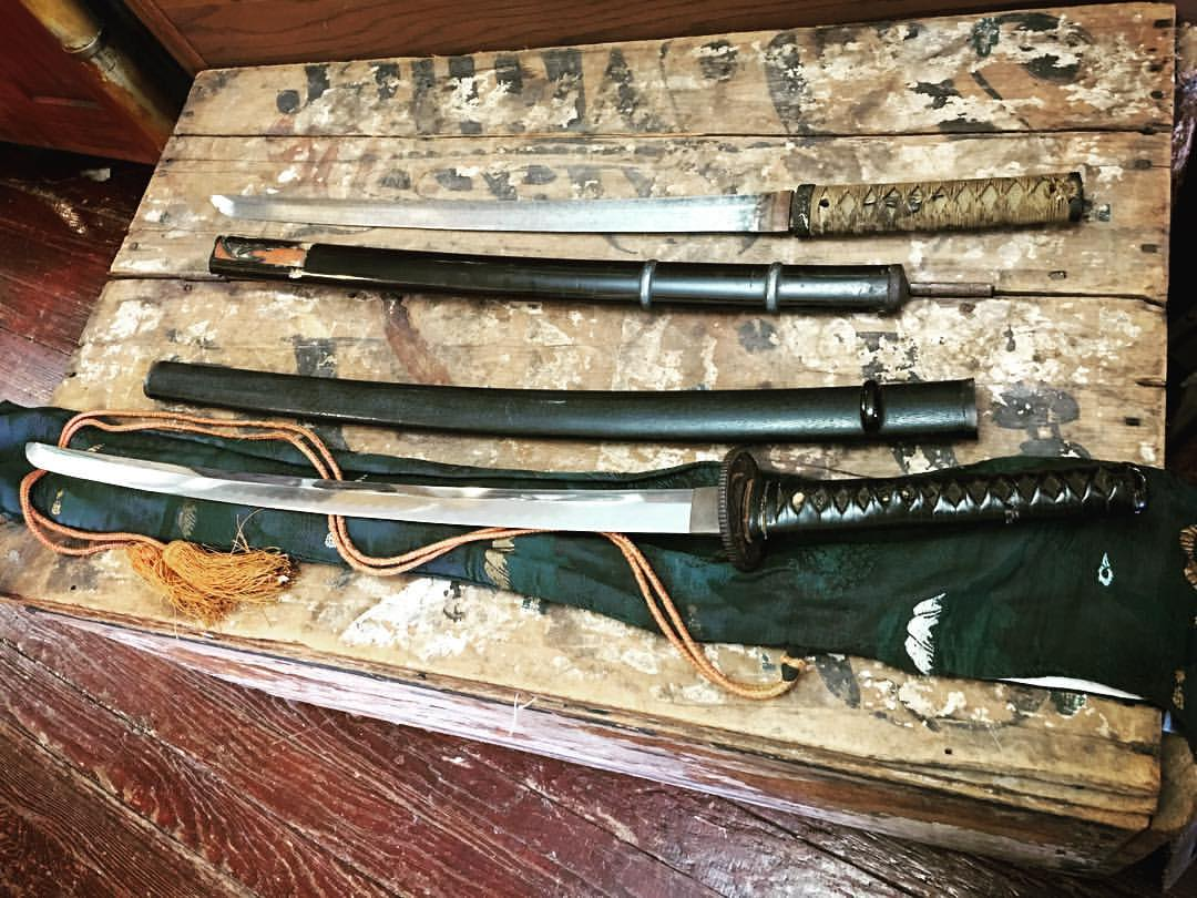 Japanese WW2 Swords with...