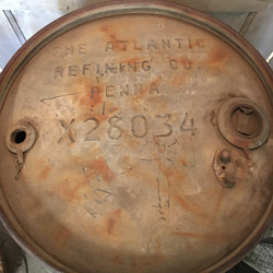 55 Gal. Steel Drum Atlantic 1919